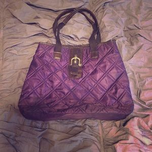 Large Purple Tote Bag